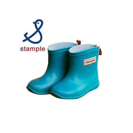 日本製 stample兒童雨鞋-天空藍.