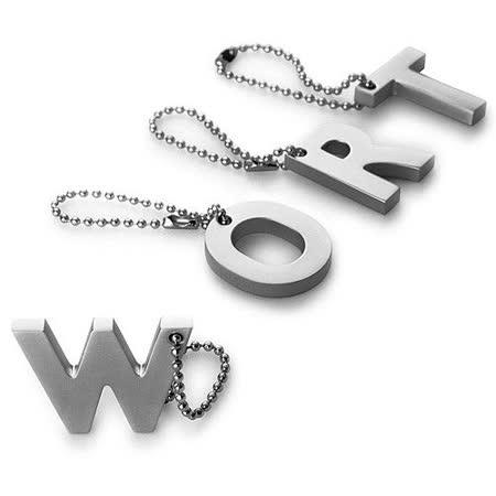 《PHILIPPI》My Letter 鑰匙圈(字母W)