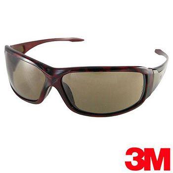 3M 經典寬版專業戶外運動眼鏡 Metal-2紅玳瑁
