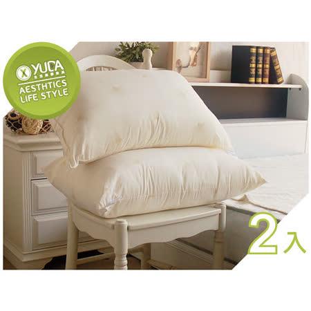 【YUDA】高枕 渥廉 天然羊毛枕心《二入/組》 100%羊毛/50/枕頭/飯店枕