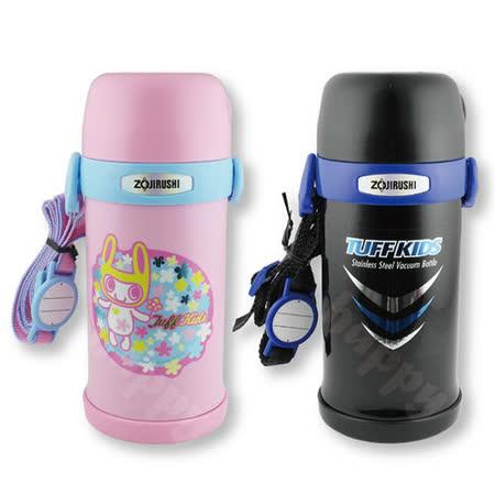 象印保溫瓶兒童水壺附背帶超輕量0.6L