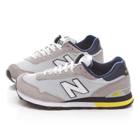 New Balance 男款 麂皮復古運動鞋ML515PRB-灰