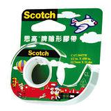 【3M Scotch】104-TW 隱形膠帶/附切割器 (12.7mmX11.4m)