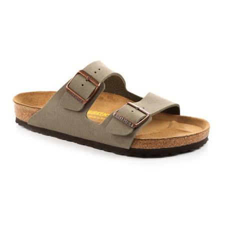 BIRKENSTOCK 151211。ARIZONA亞利桑那 經典二條拖鞋(石頭灰)