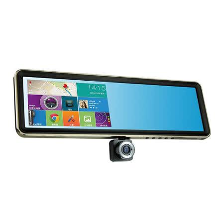 CORAL TP968 後行車紀錄器夜視功能視鏡型導航行車紀錄多功能智能機 旗艦版