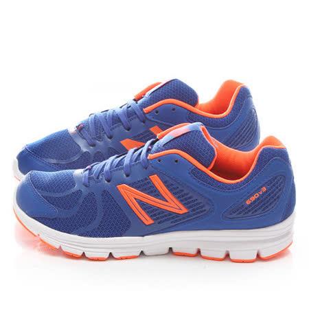 New Balance 男款 輕量透氣運動鞋M690OB3-藍