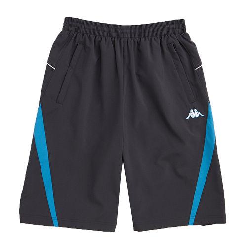 KAPPA義大利 型男吸濕排汗速乾3D單層半短褲1件~丈青