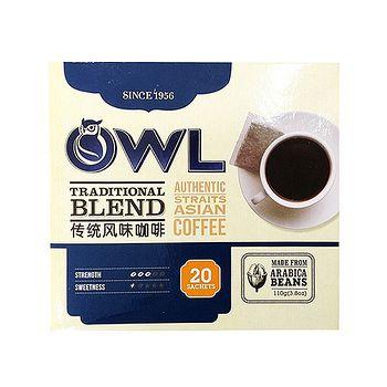 貓頭鷹 傳統風味黑咖啡 5.5g*20