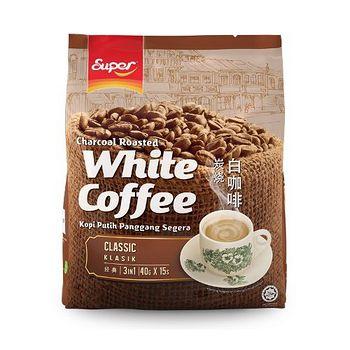 超級3合1炭燒白咖啡 (經典原味) 40g*15s