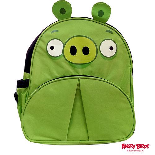 ~Angry Birds~憤怒鳥 兒童書背包^(綠色小豬^)