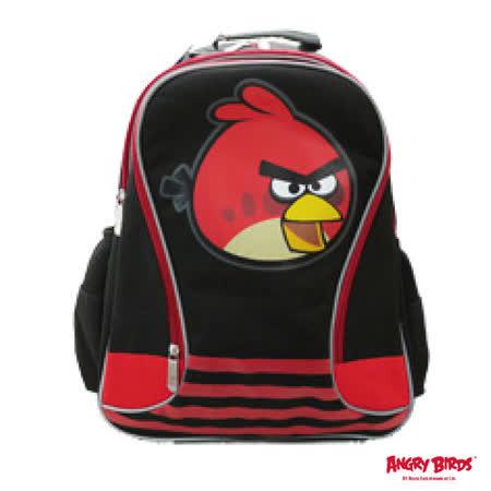 【Angry Birds】造型條紋護脊書背包(A1款)