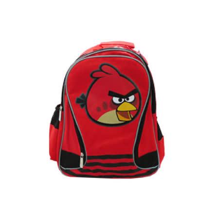 【Angry Birds】造型條紋護脊書背包(A2款)