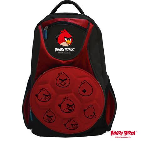 【Angry Birds】憤怒鳥足球造型護脊書背包(紅)
