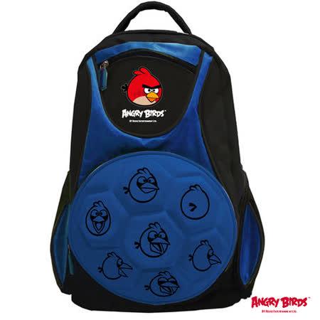 【Angry Birds】憤怒鳥足球造型護脊書背包(藍)