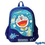 【Doraemon】哆啦A夢時尚雙層書包(A款_藍)