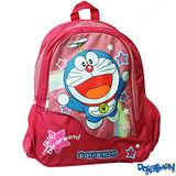 【Doraemon】哆啦A夢時尚雙層書包(A款_桃)