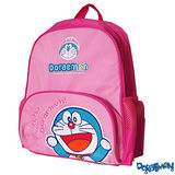 【Doraemon】哆啦A夢時尚雙層書包(C款_粉桃)