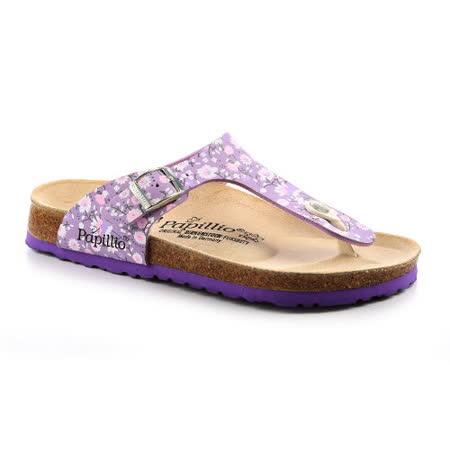 Papillio 343761。GIZEH吉薩 夾腳拖鞋(淡紫小碎花)
