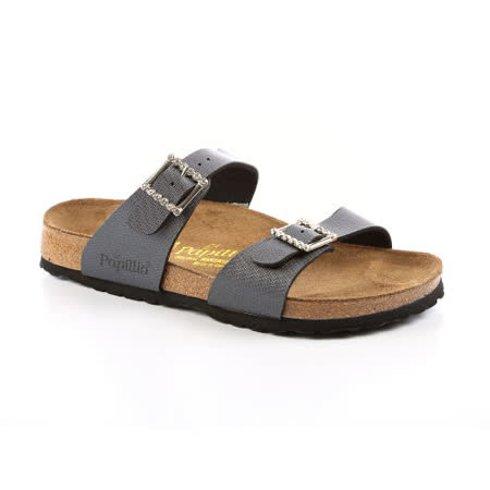 Papillio 188951。SYDNEY雪梨 二條拖鞋(鑽石灰)