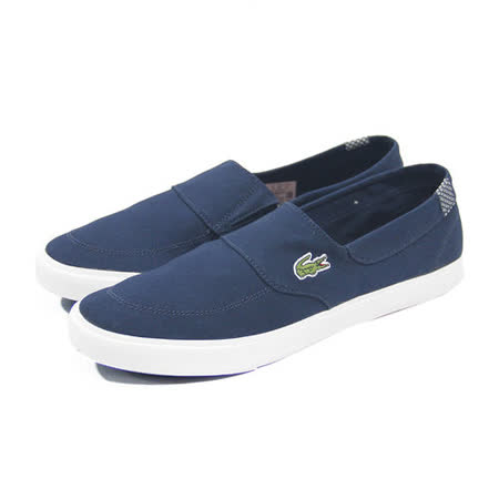(男)LACOSTE HAVASU VULC CR 休閒鞋 深藍-PM0055-1P4