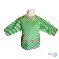 美國 Jaq Jaq Bird 多功能學習衣 (綠色斜紋)