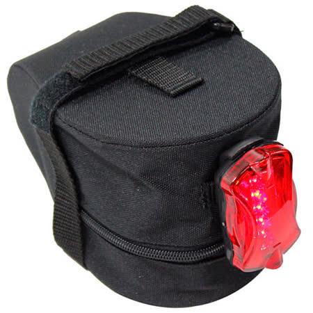 鐵馬行台製超值坐墊袋+後警示燈