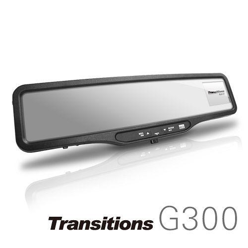 全視線 G300 Full HD高畫質 GPS測速器 後視鏡行車記錄器(加贈行車紀錄器接線16G SD卡)