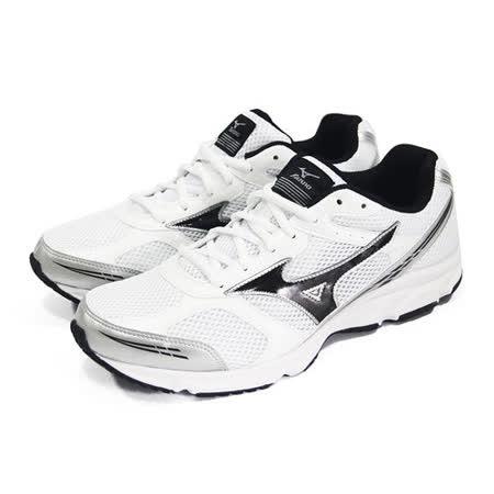 (男)MIZUNO美津濃 MAXIMIZER 17 慢跑鞋 白/黑-K1GA150209