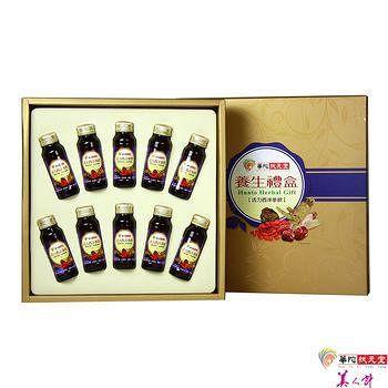 華陀扶元堂 活力西洋蔘飲禮盒1盒 (10瓶/盒)