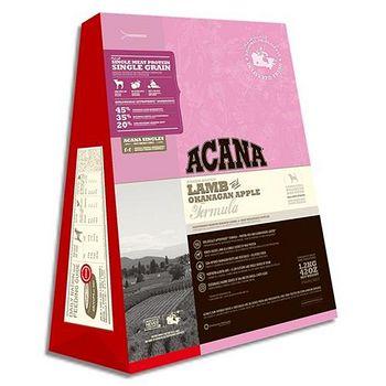 ACANA新愛肯拿 蛋白低敏 美膚羊肉+蘋果配方 11.4公斤 X 1包