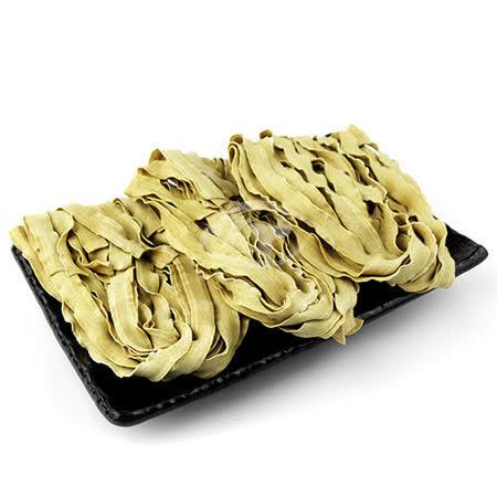 【台南莊記】手工黃金蕎麥波浪麵-2入