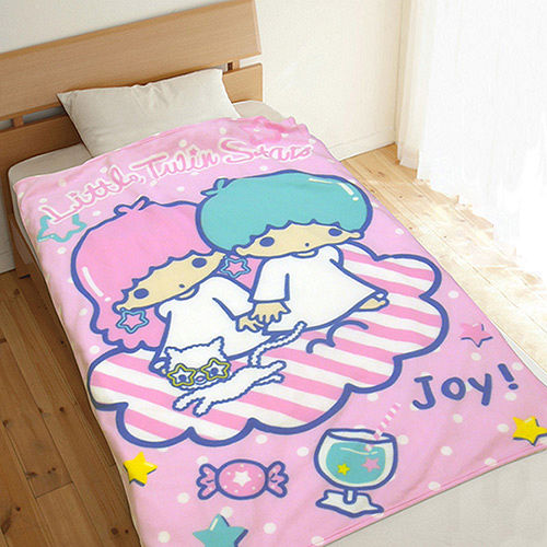 ~享夢城堡~Little TwinStars 享樂 刷毛毯