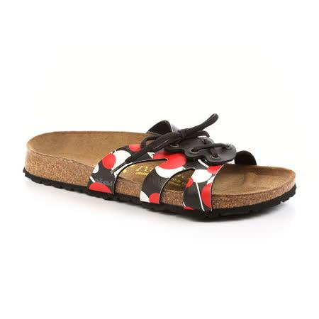 Papillio 379083。CANNES 綁帶涼鞋(圓點)