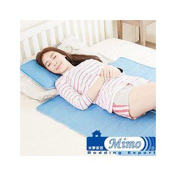 米夢家居 嚴選長效型降6度冰砂冰涼墊30*40(小) -枕頭專用2入