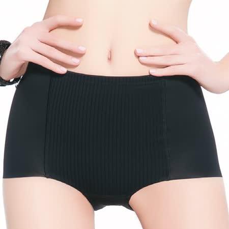 【思薇爾】舒曼曲線系列修飾型高腰平口束褲(黑色)