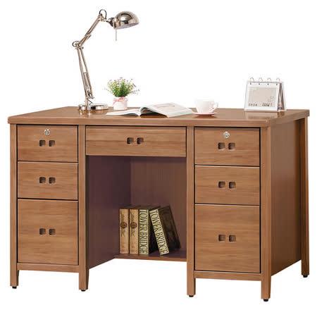HAPPYHOME 香杉美檜4.2尺書桌862-2