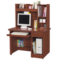HAPPYHOME 長榮柚木色3.5x4.8尺電腦桌869-2