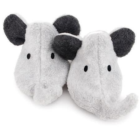 英國 Funky Feet 手工學步鞋 室內鞋 灰色小象 6-24M