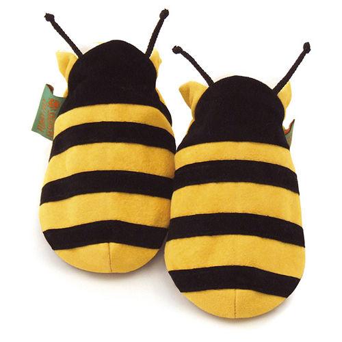 英國 Funky Feet 手工學步鞋 室內鞋 小蜜蜂 6-24M