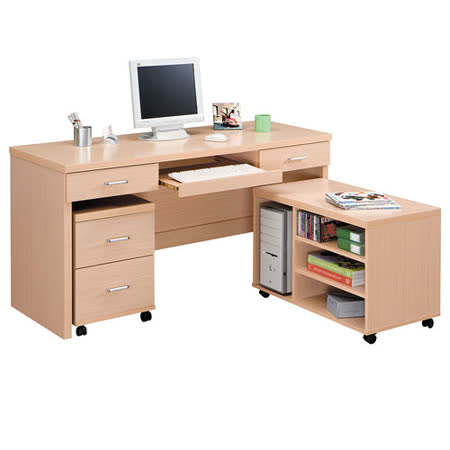 HAPPYHOME 長榮多功能5尺電腦桌875-9可選色