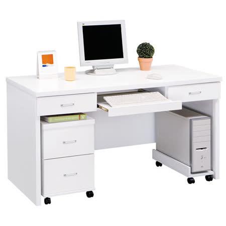 HAPPYHOME 亞泰白色5尺電腦桌879-5