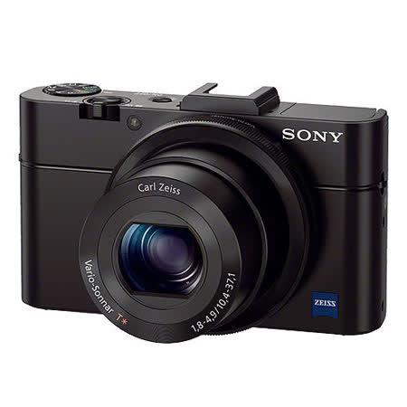 SONY RX100M2 (RX100II) 大光圈WiFi類單眼相機(公司貨)-8/13前送原廠BX1電池再送專用座充、32GB、讀卡機、清潔組