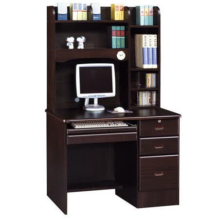 HAPPYHOME 進興胡桃3.5x5.6尺電腦桌892-10
