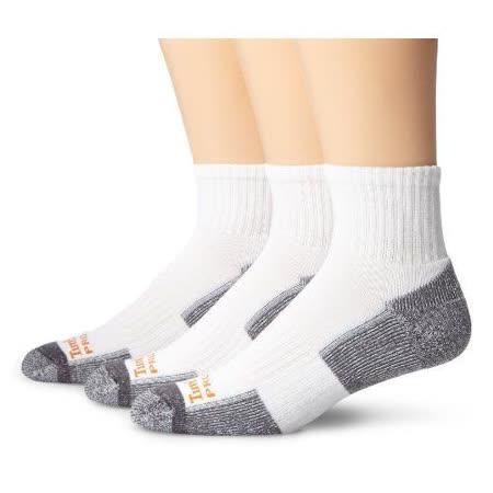 Timberland 2015男時尚墊層低切舒適白灰雙色襪子3入組【預購】