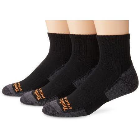 Timberland 2015男時尚墊層低切舒適黑灰雙色襪子3入組【預購】