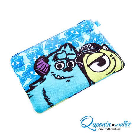 DF Queenin - 迪士尼系列怪獸大學帆布筆袋