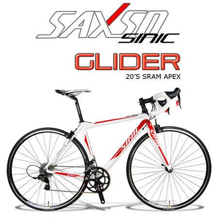 SAXSO SINIC Glider 專業級APEX超值公路車(紅白)