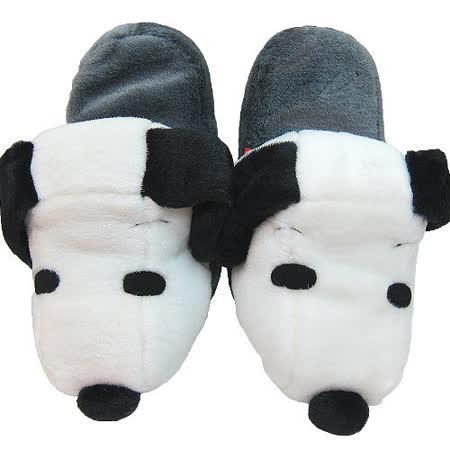 【波克貓哈日網】SNOOPY 史奴比◇保暖居家拖鞋◇《SNOOPY頭造型》