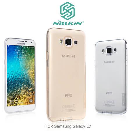 NILLKIN Samsung Galaxy E7 本色系列 TPU軟套