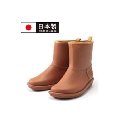 【Charming】日本製 時尚造型【個性雪靴雨鞋】-咖啡色-712